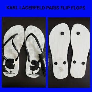 Karl Lagerfeld Paris Flip Flops
